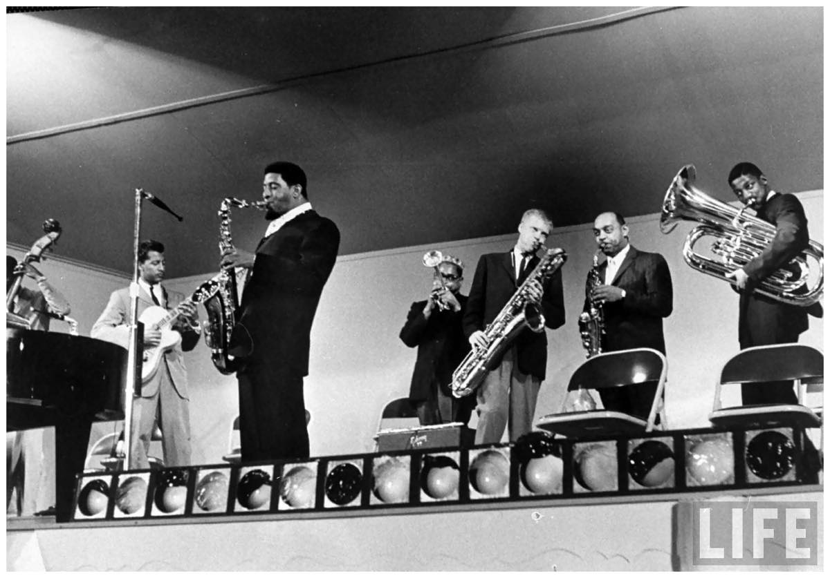 th_sonny-rollins-5r-dizzy-gillespie-4r-and-gerry-mulligan-3r-ben-webster-2r-at-the-monterey-jazz-festival-by-nat-farbman-1958