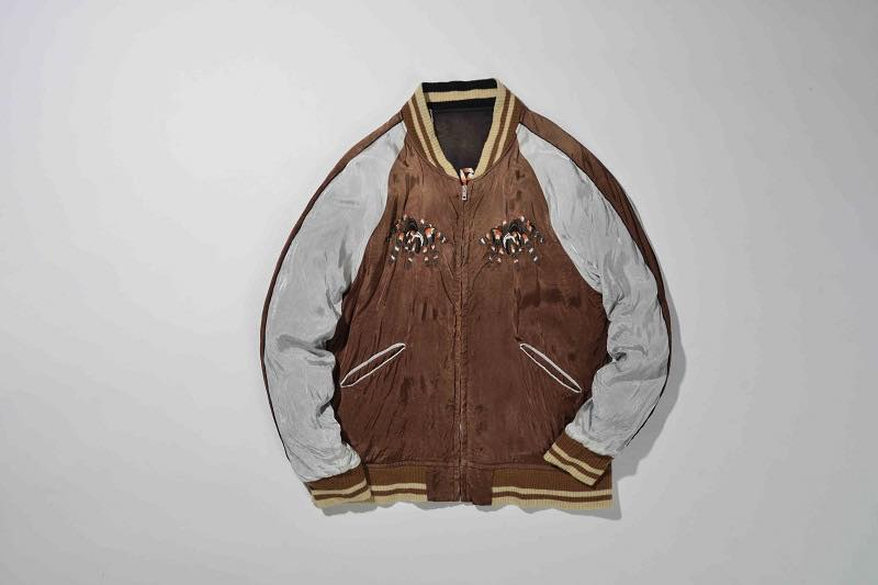 6.SPIDER WEB SOUVENIR JACKET(BROWN×BLACK)