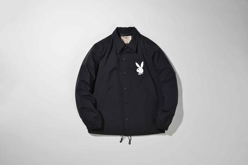 1.PLAYBOY COACH JACKET(BLACK)