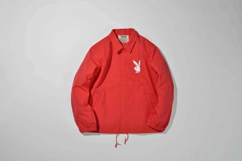 2.PLAYBOY COACH JACKET(RED)