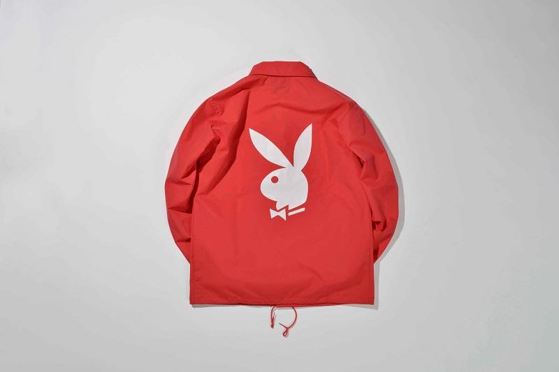 4.PLAYBOY COACH JACKET(BACK SIDE)